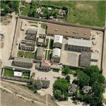 Old Idaho Penitentiary State Historic Site (Birds Eye)