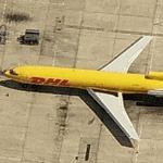 DHL - Astar Air Cargo - Boeing 727-227 (Birds Eye)
