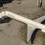 Delta Air Lines - McDonnell Douglas MD-88 (Birds Eye)