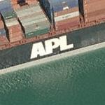 'APL' American President Lines Ltd (Birds Eye)