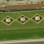'GGF' at Golden Gate Fields horse racing (Birds Eye)
