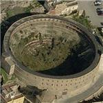 Abandoned Plaza de toros de Cartagena (Birds Eye)