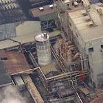 Imperial Sugar Refinery Explosion - 2/8/2008 (Birds Eye)