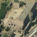 Basilica of Maxentius (Birds Eye)