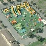 Mega Inflatable Playground (Birds Eye)