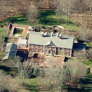 Vince McMahon's house (Birds Eye)