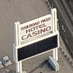 ''Railroad Pass Hotel Casino'' (Birds Eye)