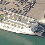 Acciona Super Fast Ferry (Birds Eye)