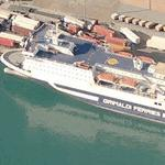 M/F Eurostar Barcelona''Grimaldi Ferries'' (Birds Eye)