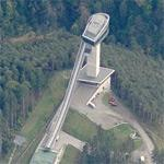 'Bergisel Ski Jump' by Zaha Hadid (Birds Eye)