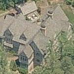 Andie MacDowell's House (Birds Eye)
