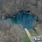 Blue Hole and Castalia Hatchery (Birds Eye)