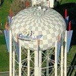Chicagoland Speedway water tower (Birds Eye)