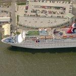 Carnival Cruise Ship 'Holiday' (Birds Eye)