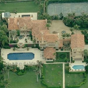 Alfred Taubman's House (Birds Eye)