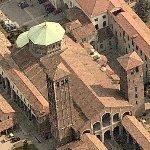 Basilica di Sant'Ambrogio (Birds Eye)