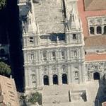 Igreja de Sao Vicente de Fora (Birds Eye)