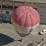 Hot air balloon (Birds Eye)