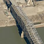 C&O Bridge and Clay Wade Bailey Bridge (Birds Eye)
