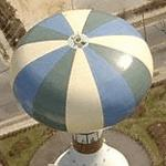 Balloon water tower (Birds Eye)
