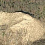 Sand Dune at Hoffmaster Park (Birds Eye)