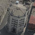 Battistero di Parma (Birds Eye)