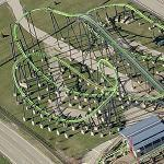 Geauga Lake (Previously Six Flags Ohio) (Bing Maps)