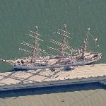 Gorch Fock of 1958 (Birds Eye)