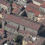 Basilica di San Francesco di Arezzo (Birds Eye)