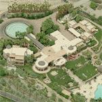 Larry Ellison's house (Birds Eye)