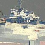 USS America (Bing Maps)