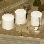 Hot, Warm, Cold Water Towers (Birds Eye)