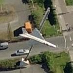 MiG-21 on Pole