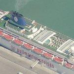 Pullmantur Cruises - 'S.S. Oceanic' (Birds Eye)