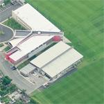 Melwood - Liverpool FC's training ground (Birds Eye)