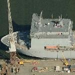 RFA Lyme Bay (L3007) (Birds Eye)