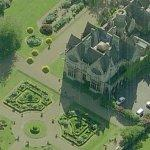 Arle Court Manor House (Birds Eye)