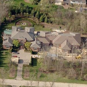 Mike Ilitch's house (deceased) (Birds Eye)