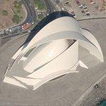 Auditorio de Tenerife by Santiago Calatrava (Birds Eye)