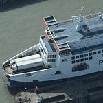 'M/F Pride of Canterbury' P&O Ferries (Birds Eye)
