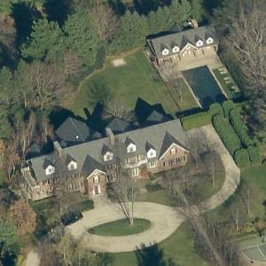 Jay-Z & Beyonce's Mansion (Falsely Rumored) (Birds Eye)