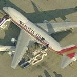 Kalitta Air 747 (Birds Eye)