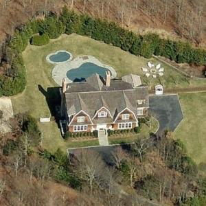 Kelly Ripa's house (Birds Eye)