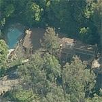 Rosanna Arquette's house (former) (Birds Eye)