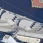 USS Wisconsin (Bing Maps)