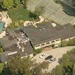 Sammy Davis, Jr.'s House (former) (Birds Eye)