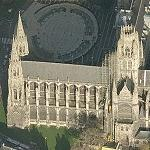 Abbey Church of St. Ouen (Birds Eye)