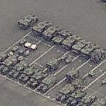 US Army motor pool