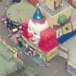 Clown at the Prater (Birds Eye)
