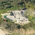 Balthazar Getty's house (Birds Eye)